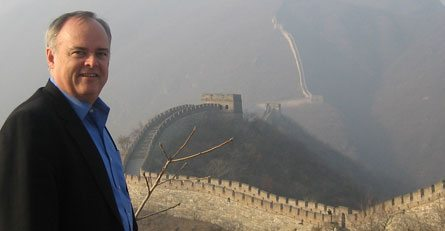 Great Wall of China CEO Bruce Nasby